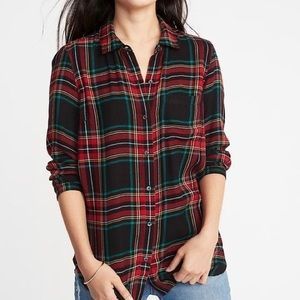 Old Navy Relaxed Classic Soft-Brushed Twill Shirt